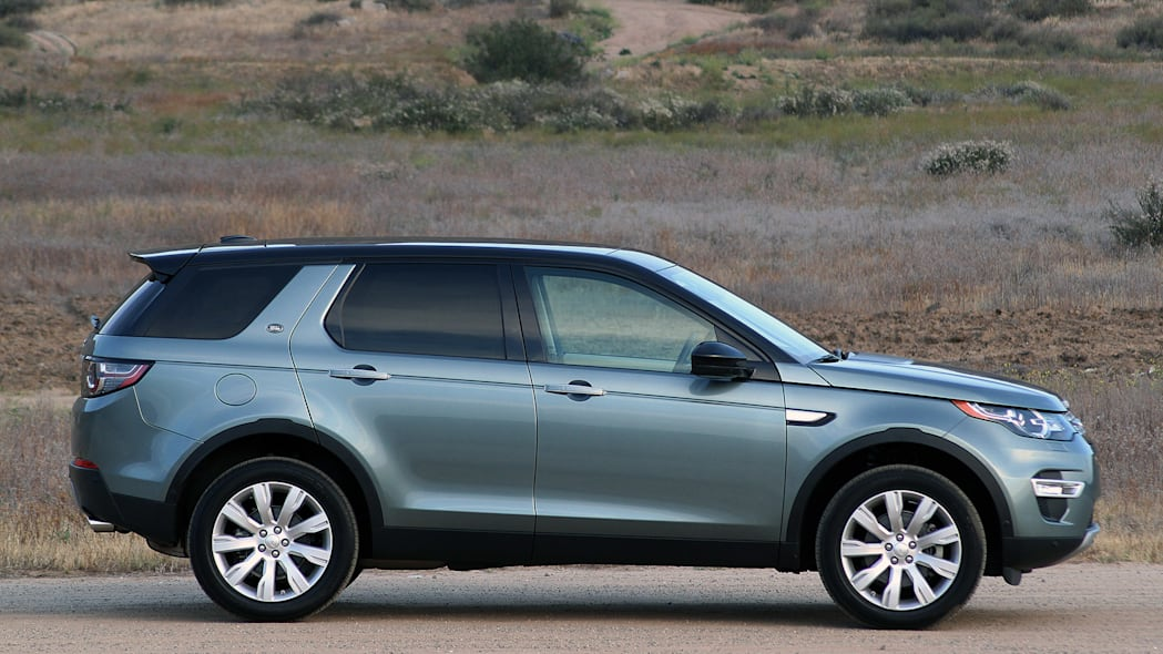 2015 Land Rover Discovery Sport side view