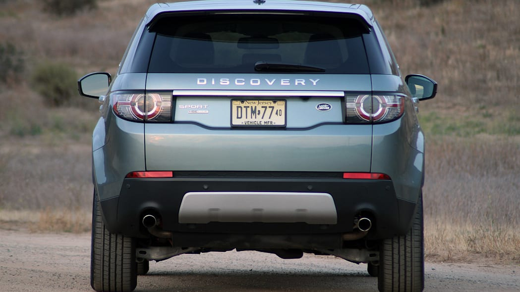 2015 Land Rover Discovery Sport rear view