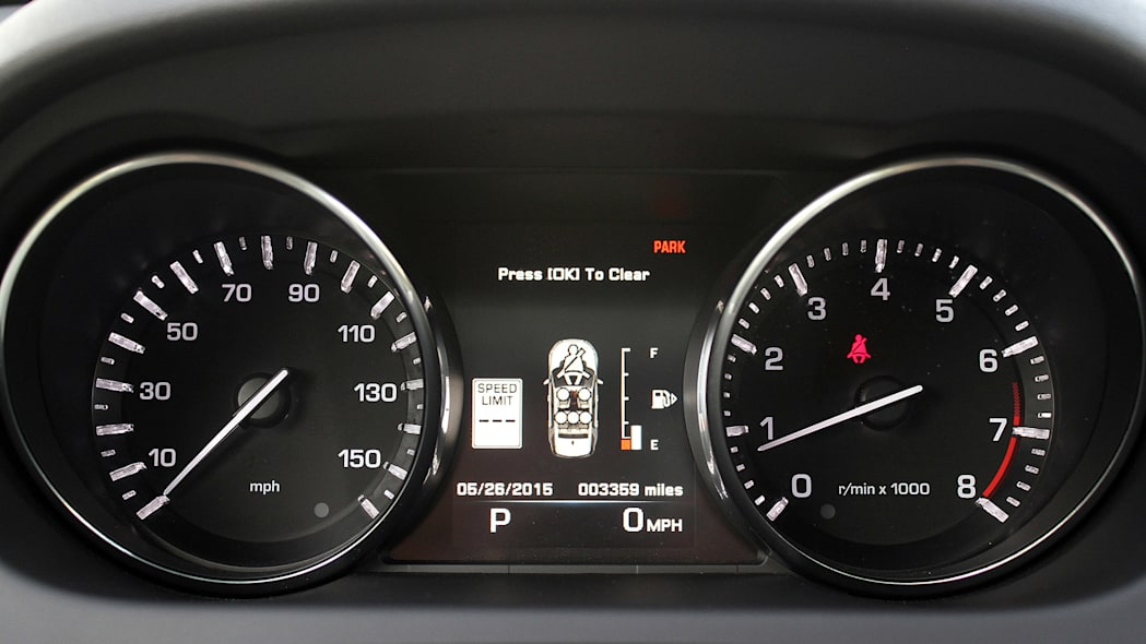 2015 Land Rover Discovery Sport gauges