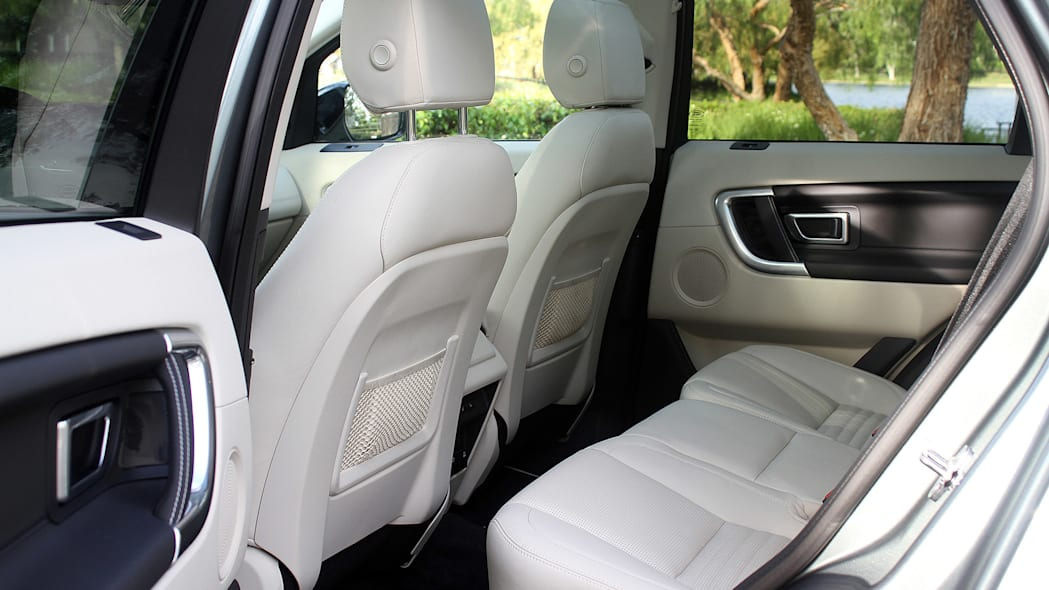 2015 Land Rover Discovery Sport rear seats