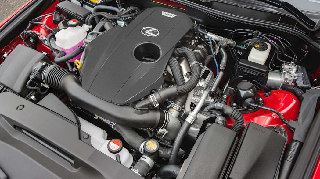 lexus is 200t engine turbocharged four-cylidner