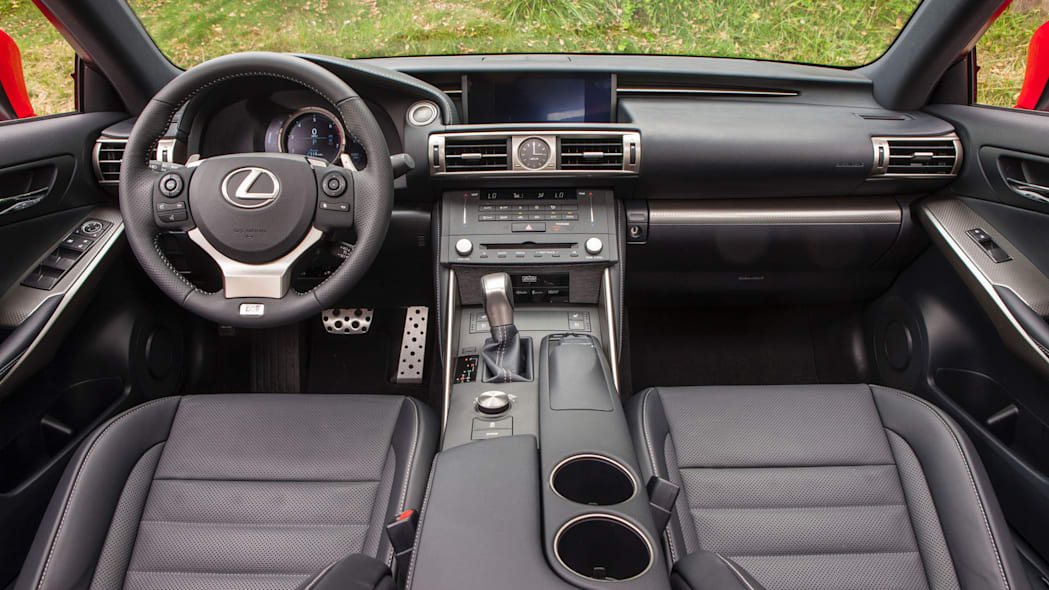 is 200t interior f sport cabin seats leather