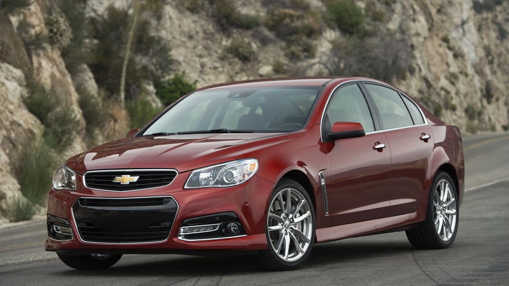 2015 Chevrolet SS front 3/4 view