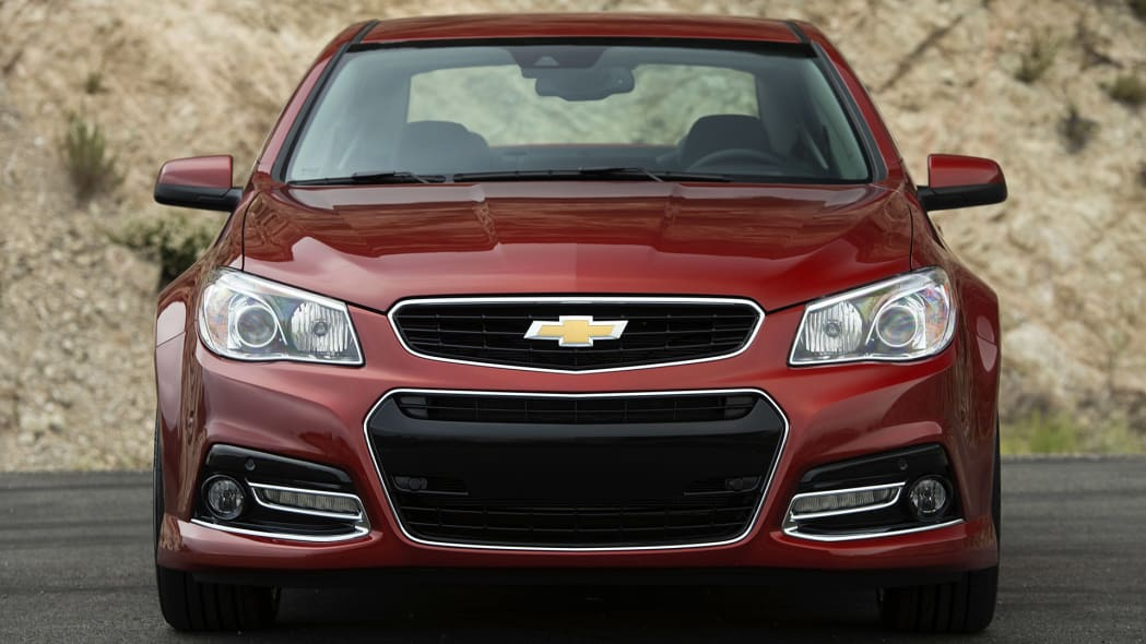 2015 Chevrolet SS front view