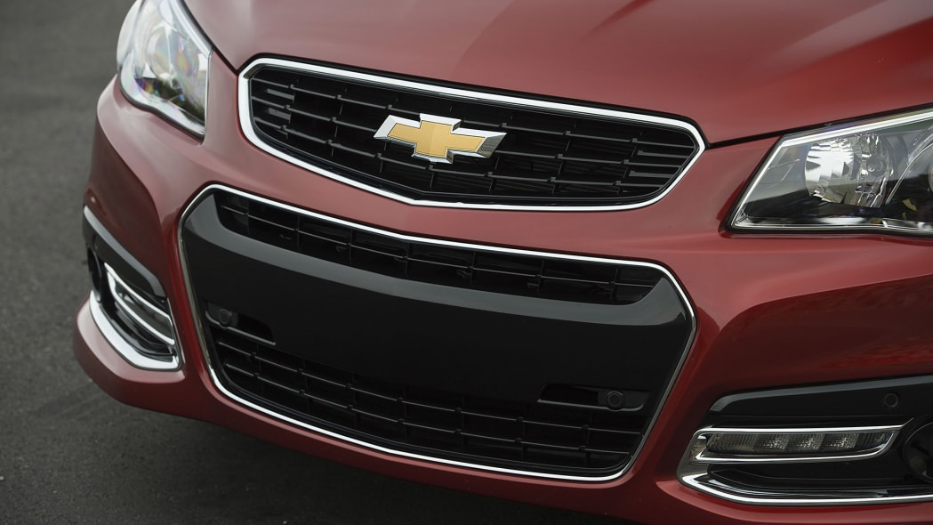 2015 Chevrolet SS grille