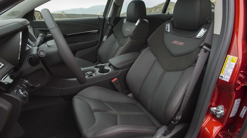 2015 Chevrolet SS front seats