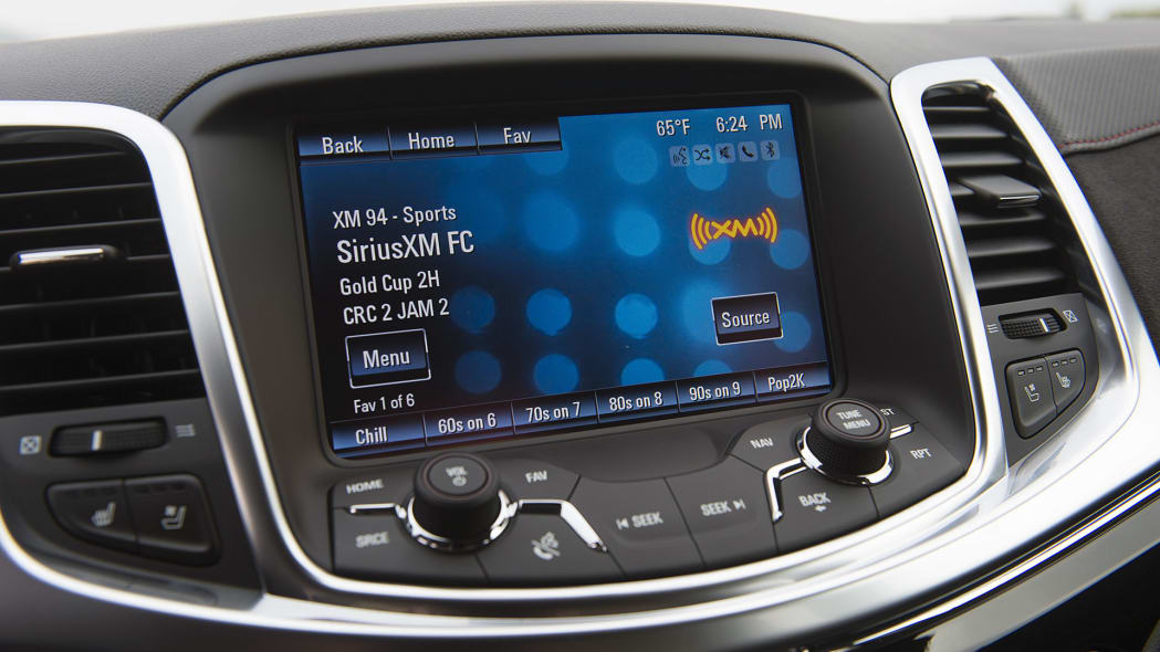 2015 Chevrolet SS infotainment system