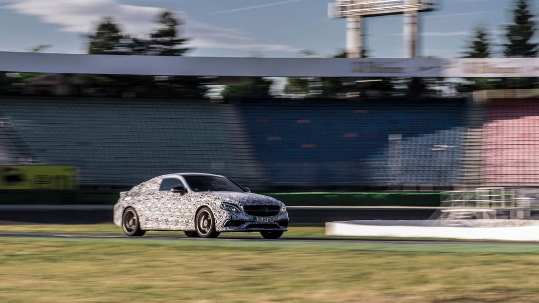 Mercedes-AMG C63 Coupe front 3/4