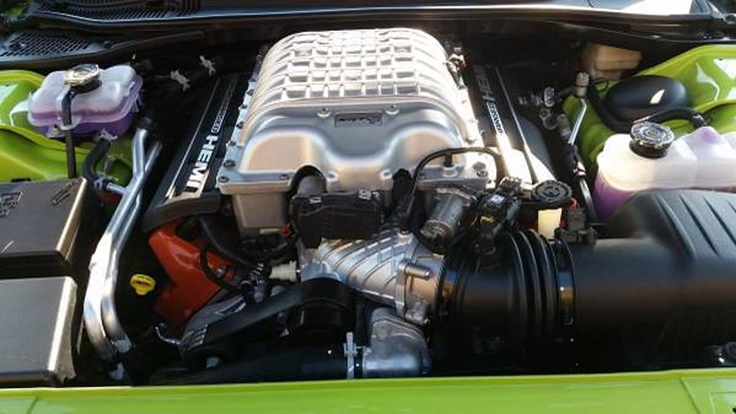 dodge challenger srt hellcat 666 engine