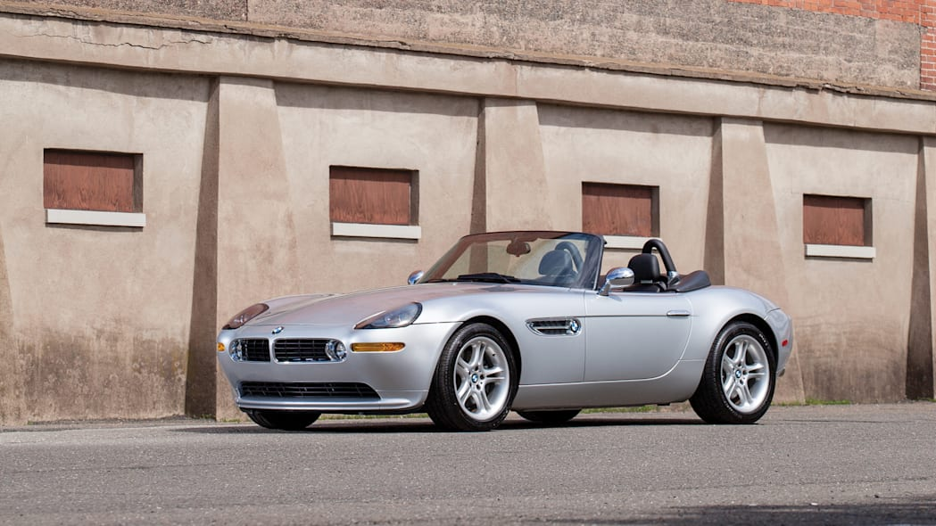 2001 BMW Z8 front 3/4 roof down