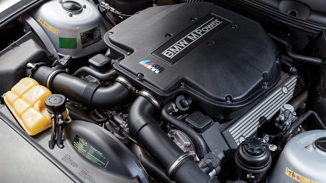 2001 BMW Z8 engine