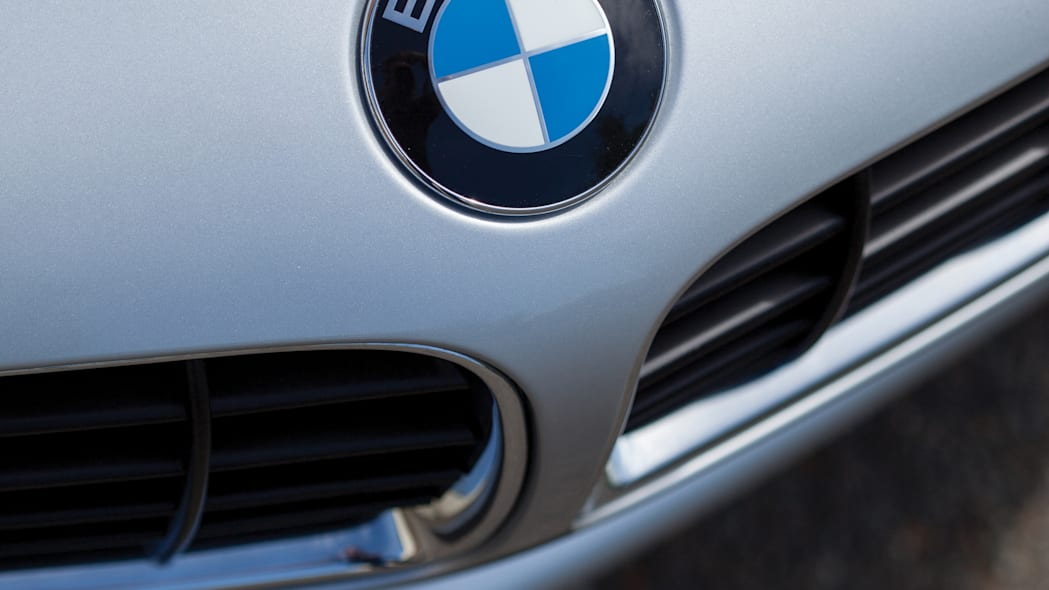 2001 BMW Z8 nose badge