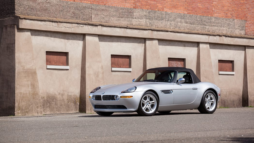 2001 BMW Z8 front 3/4 roof up