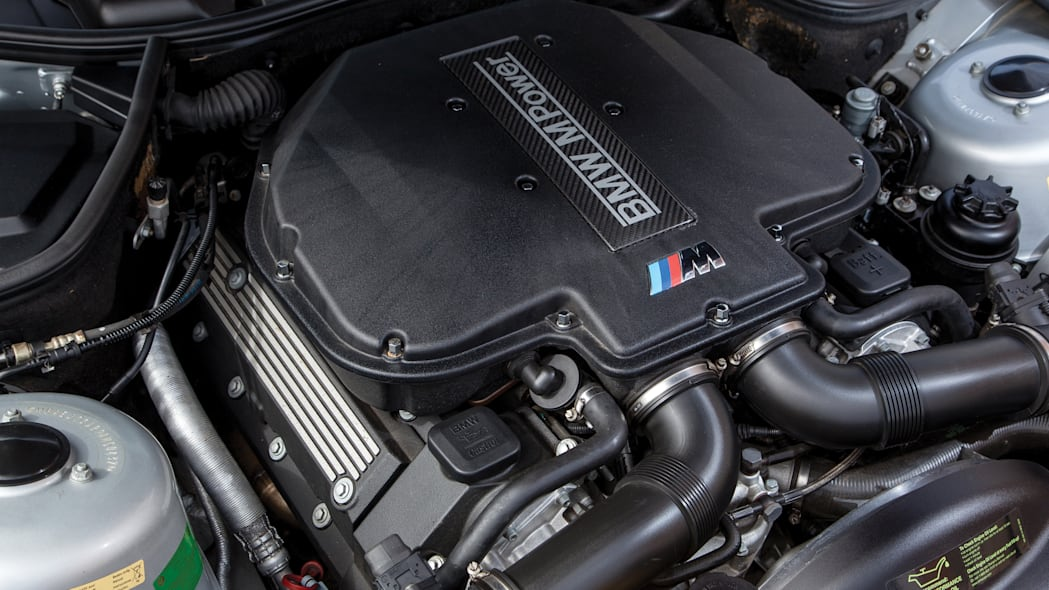 2001 BMW Z8 engine bay