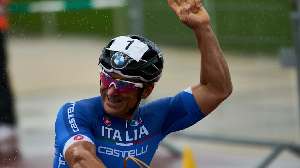 Alessandro Zanardi Team Italy hand cycle