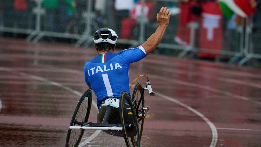 Alessandro Alex Zanardi Team Italy hand cycle