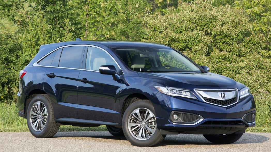 2016 Acura RDX front 3/4 view