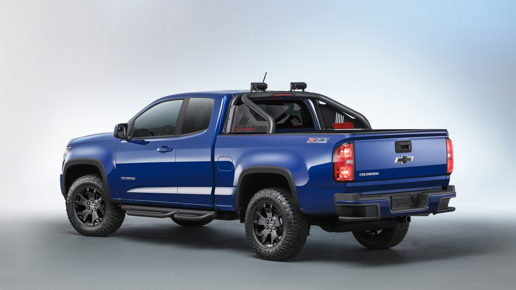 colorado chevy trail boss off road truck
