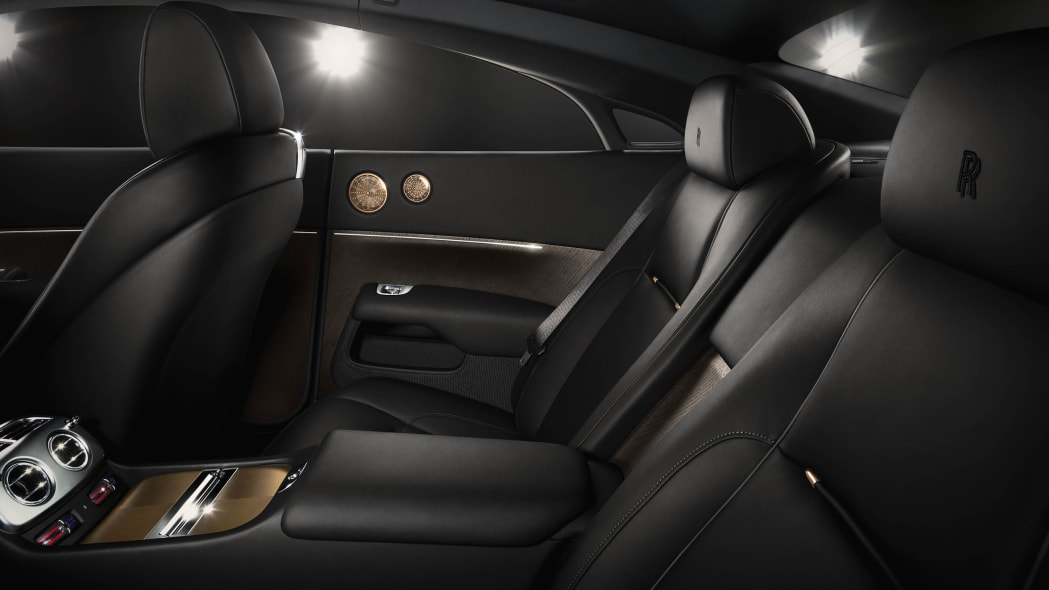 Rolls-Royce Wraith Inspired by Music rear seats