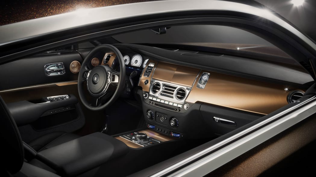 Rolls-Royce Wraith Inspired by Music interior
