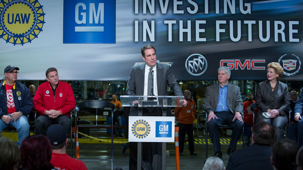 Investment announcement GM Flint Assembly