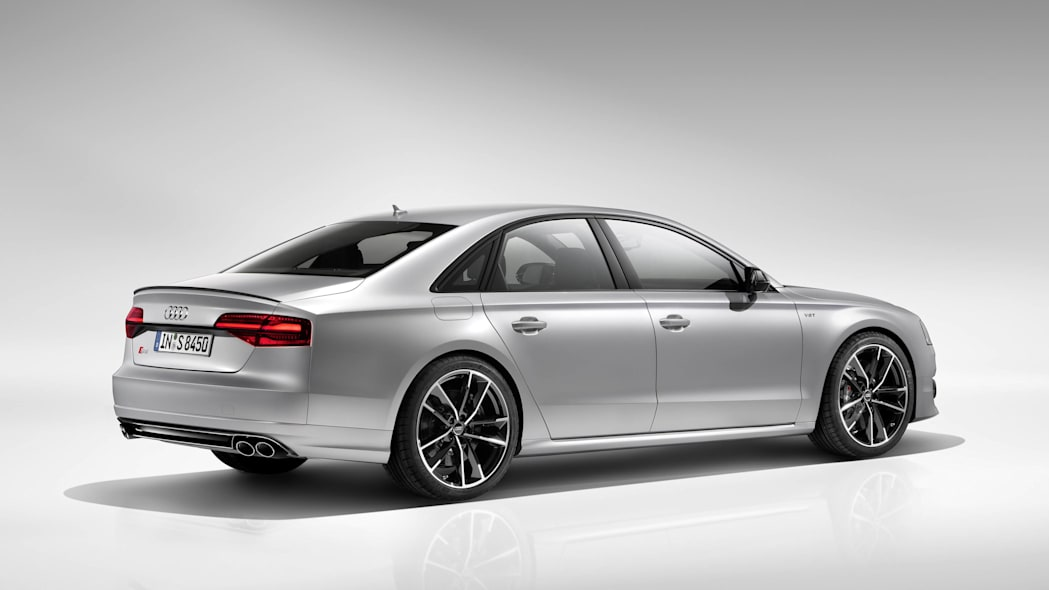 2016 Audi S8 Plus rear 3/4 studio