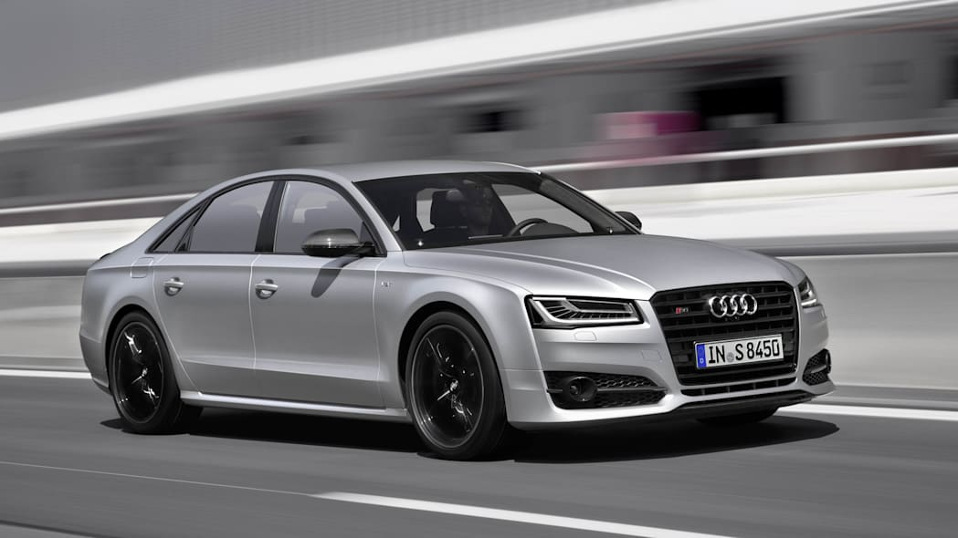 2016 Audi S8 Plus moving