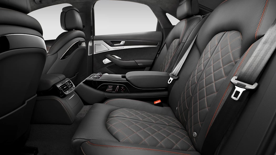 2016 Audi S8 Plus rear seats