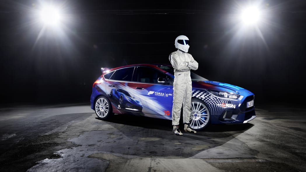 2016 Ford Focus RS Forza 6 livery the stig