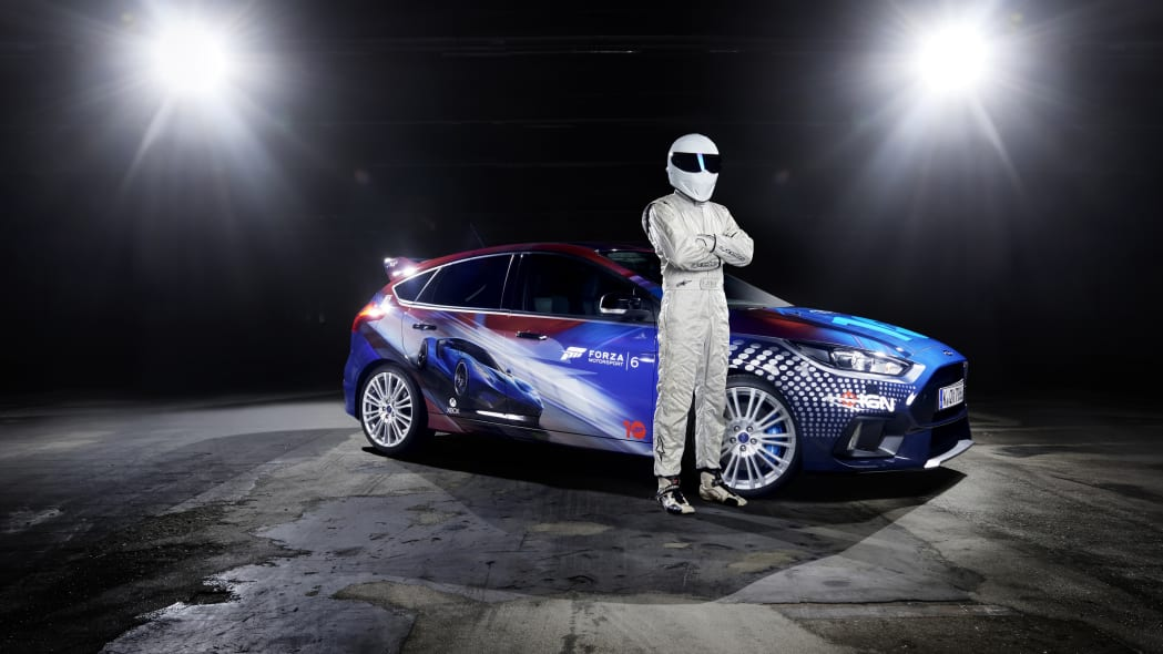 2016 Ford Focus RS Forza 6 livery the stig top gear