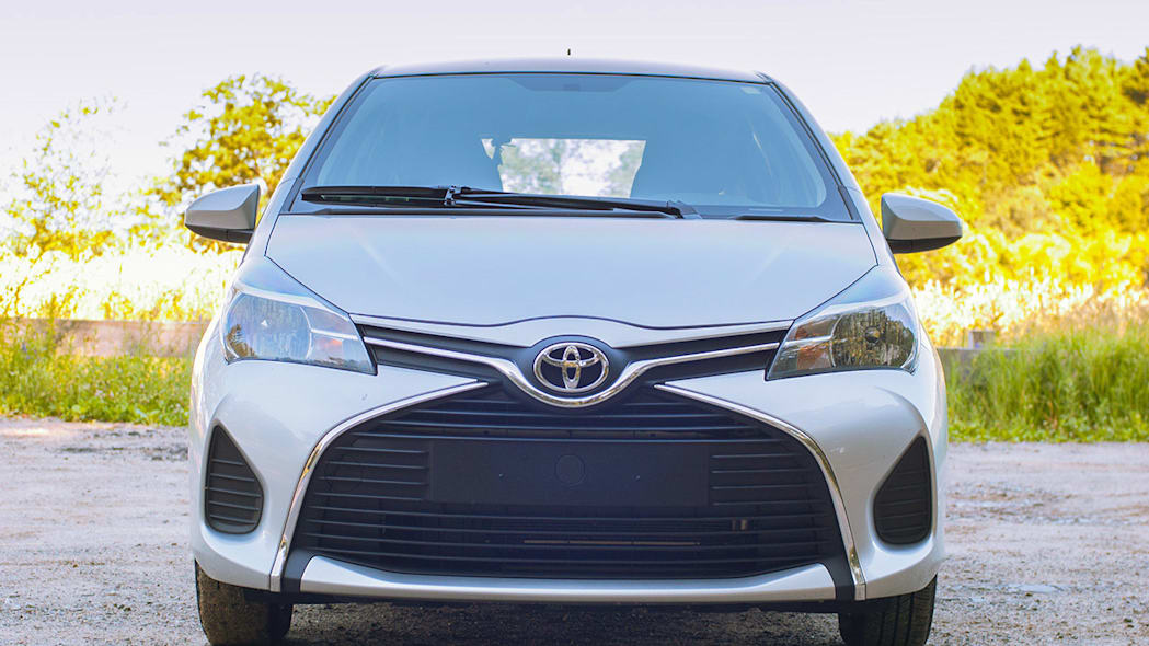 2015 Toyota Yaris front view