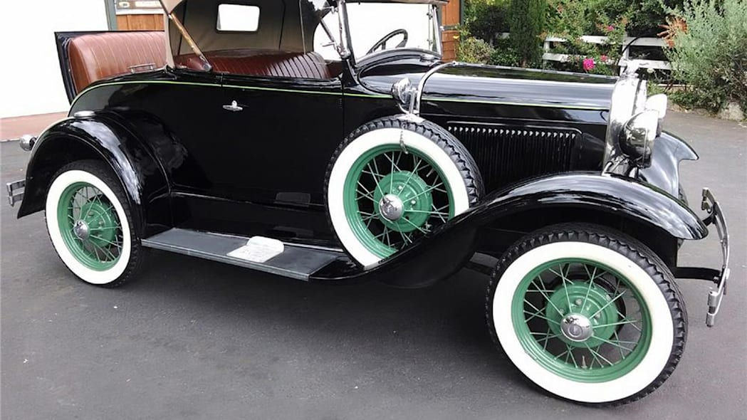ford model a auction barrett-jackson reno