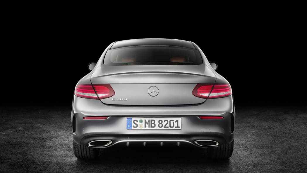 rear tailights c-class mercedes c300 coupe