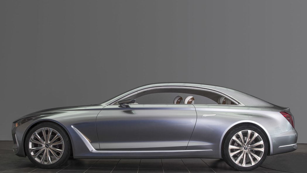 Hyundai Vision G Coupe Concept profile looks awesome