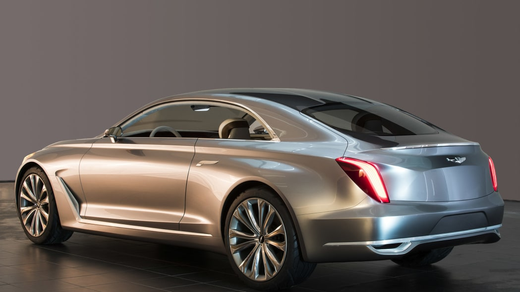 Hyundai Vision G Coupe Concept is so good-looking