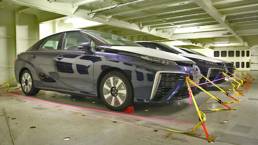 toyota mirai waiting for european delivery