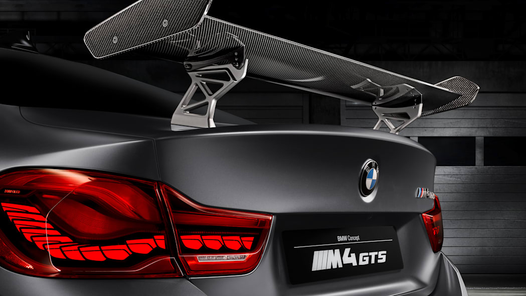 wing carbon fiber bmw oled taillights m4