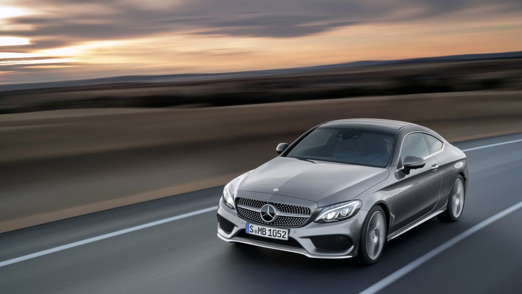 The 2016 Mercedes C-Class Coupe.