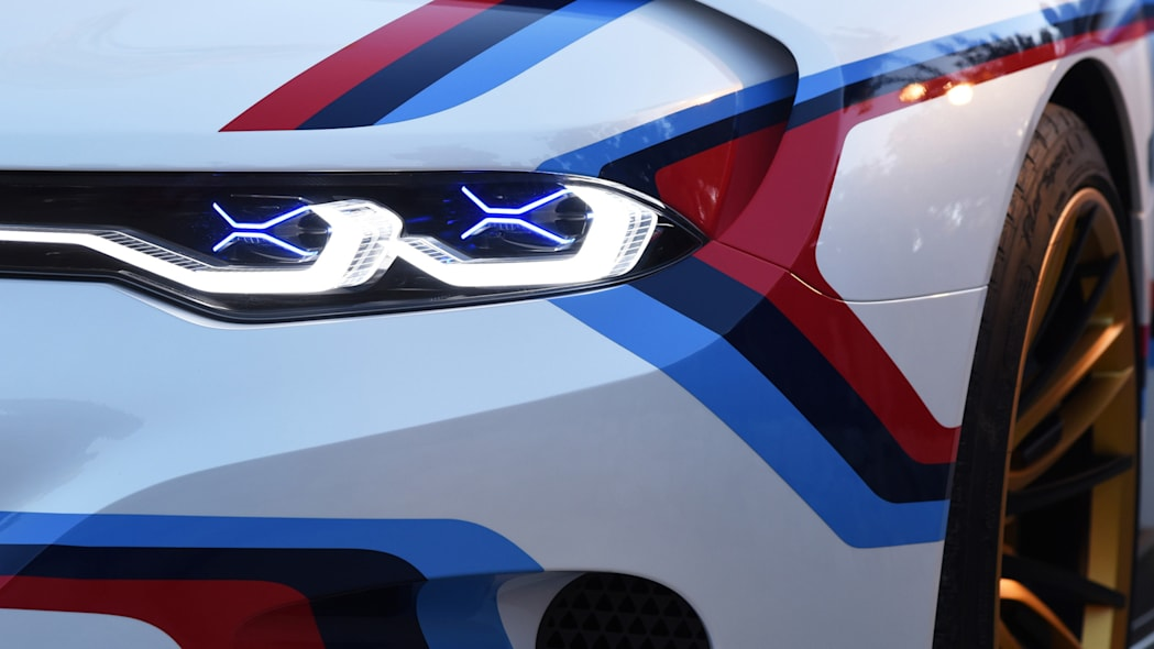 laser led headlights hommage r bmw 3.0 csl