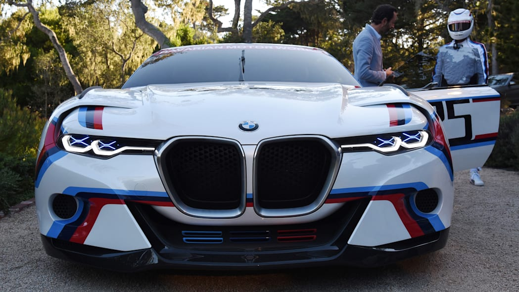 front hommage r csl bmw 3.0 grille