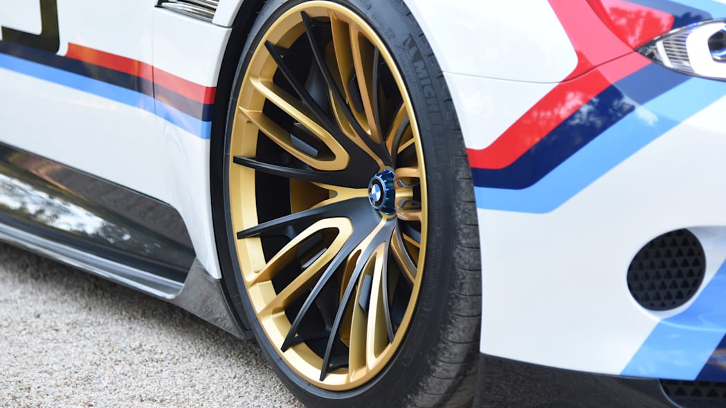 wheels black gold 3.0 csl hommage r bmw