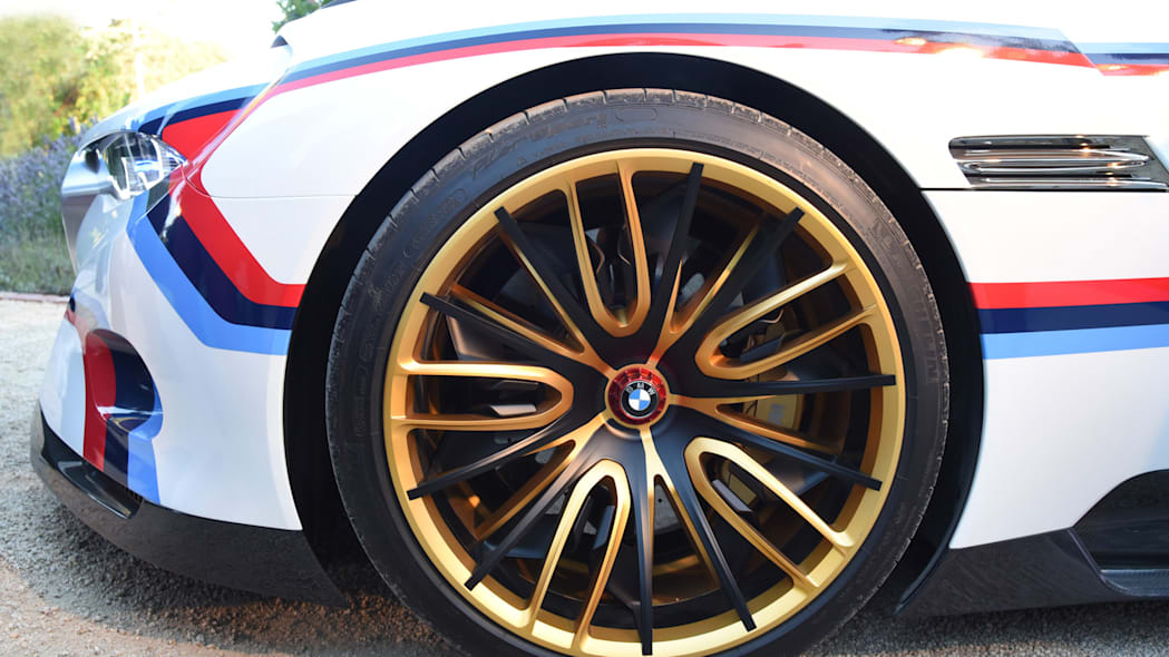 wheels hommage r gold black bmw 3.0 csl concept