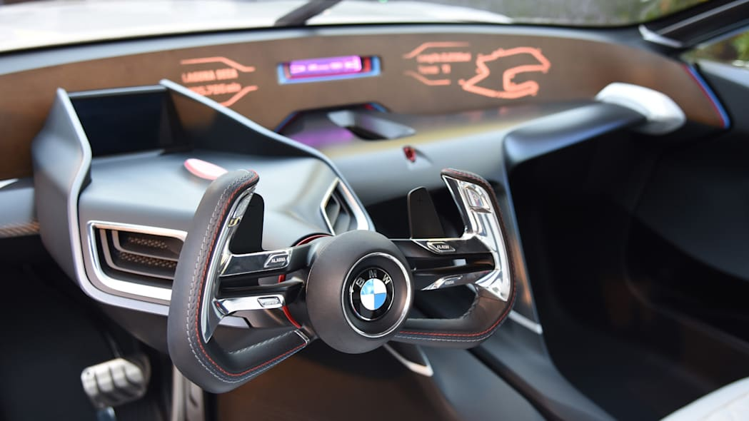 wheel dash display bmw cabin csl interior 3.0 hommage r