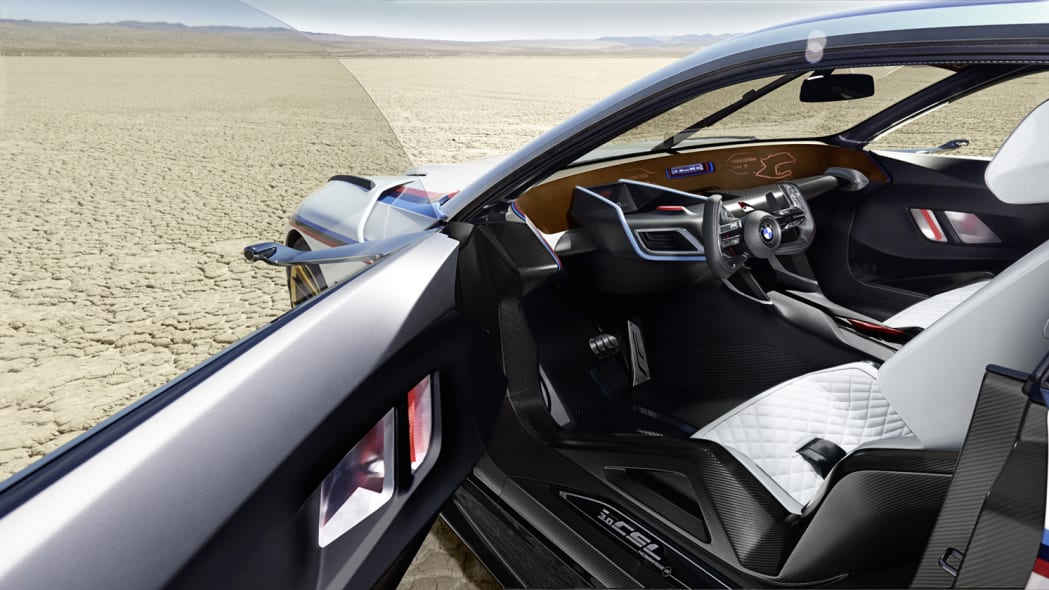 3.0 csl cabin interior leather seats bmw hommage r