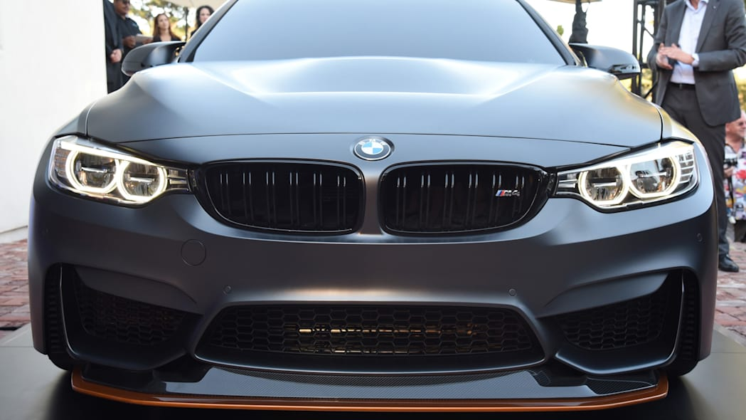 bmw splitter headlights grille m4 gts concept