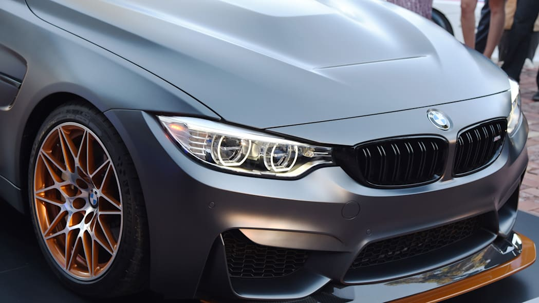 concept m4 gts grille orange bmw grey