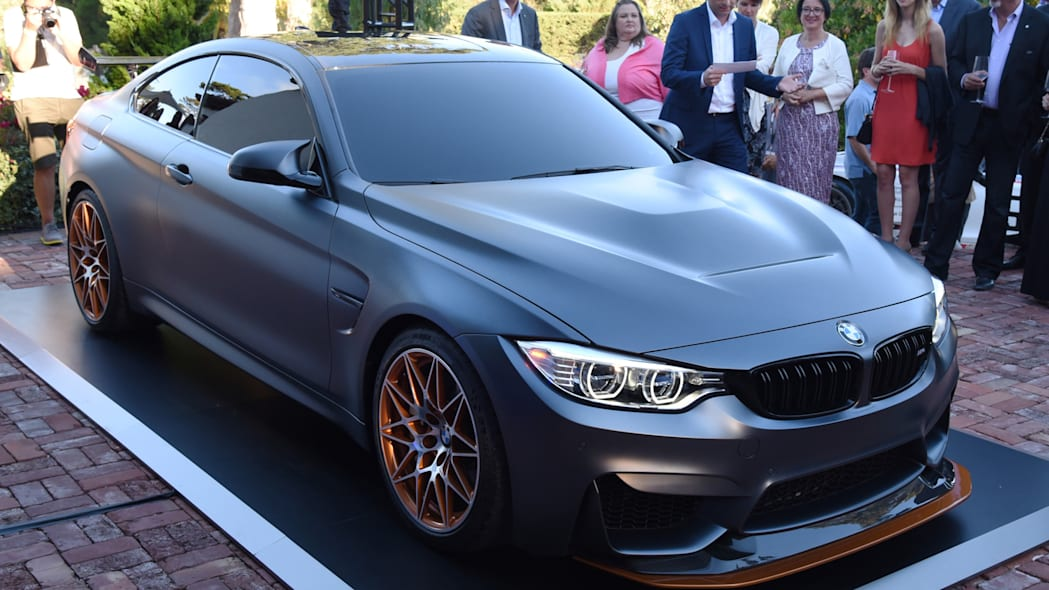 bmw gts concept m4 frozen grey