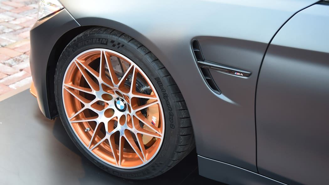 wheel michelin bmw concept m4 gts sidegill