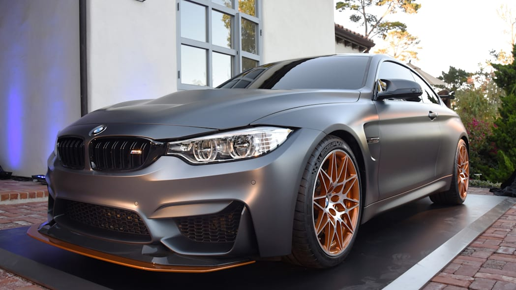 m4 concept gts orange monterey bmw