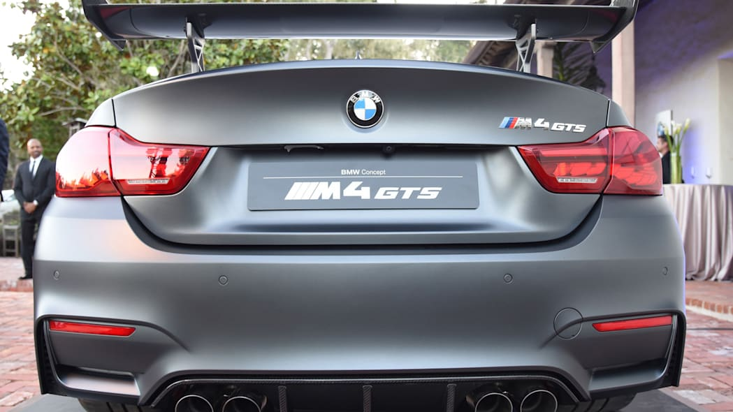 m4 exhaust bmw badges oled taillights concept gts